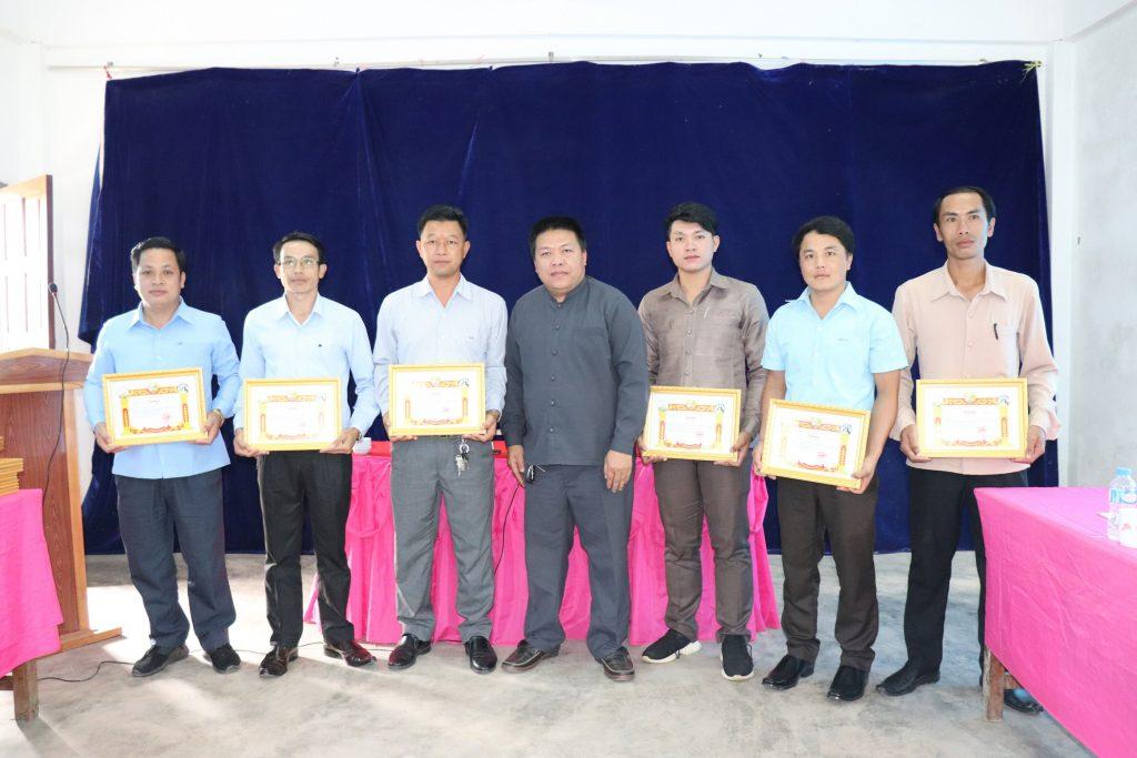 certificate-ພະນັກງານສູນ